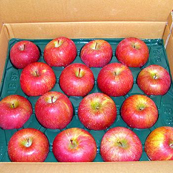 箱詰めのリンゴ